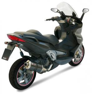 MIVV Slip-On OVAL Carbon GILERA FUOCO 500 2007-2013