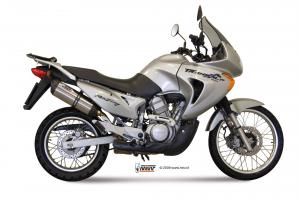 MIVV Slip-On SUONO RVS HONDA XLV 650 TRANSALP 2000-2004