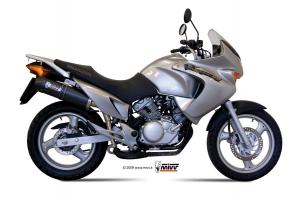 MIVV Slip-On OVAL Carbon HONDA XL 125 VARADERO 2007-2011