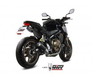 MIVV Volledig systeem MK3 RVS HONDA CBR 650 R 2019 >