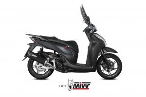 MIVV Slip-On MOVER RVS HONDA SH 300 2015 >