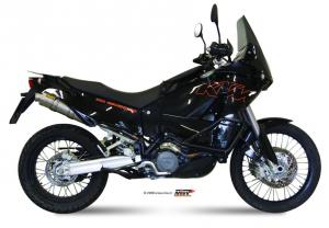 MIVV Bolt-On ROUND Titanium KTM LC8 950 ADVENTURE 2003-2005