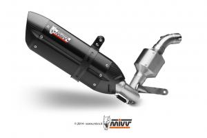 MIVV Volledig systeem SUONO RVS KTM 125 DUKE 2011-2016