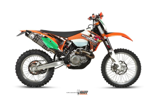 MIVV Volledig systeem OVAL Titanium KTM EXC 450 F 2012-2012