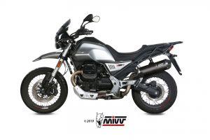 MIVV Slip-On OVAL Carbon MOTO GUZZI V85 TT 2019 >