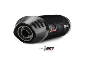 MIVV Slip-On OVAL Carbon HONDA CBR 600 RR 2003-2004