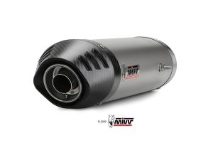 MIVV Slip-On OVAL Titanium HONDA CBR 600 RR 2003-2004