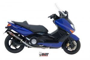 MIVV Volledig systeem OVAL Carbon YAMAHA T-MAX 500 2001-2007