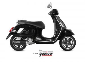 MIVV Slip-On MOVER RVS PIAGGIO VESPA GTS 300 2008 >
