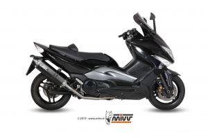 MIVV Volledig systeem SPEED EDGE RVS YAMAHA T-MAX 500 2008-2011