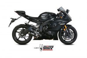 MIVV Slip-On MK3 Carbon YAMAHA YZF 600 R6 2017 >