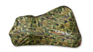 Motorhoes Highsider Camouflage maat L