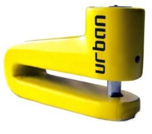 Schijfremslot motor Urban 10mm geel