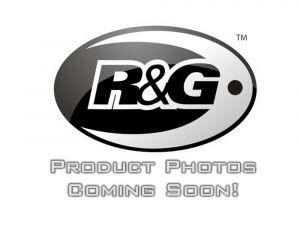 Uitlaatsteun R&G, Zwart + BLANKING PLATE