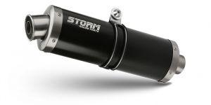 Storm Volledig systeem Oval Zwart voor XSR 700 2016 >