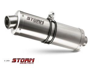 Storm uitlaat Oval voor R 1200 R 2011 > 2014