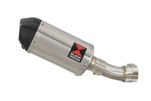 BWE Slip-On RVS Ovaal 200mm voor RSV4 1000R & Factory 2009-2014