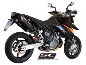 SC-Project uitlaat Oval voor KTM 990 2009-2014-SUPERMOTO-ADVENTURE