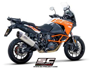 SC-Project uitlaat Adventure voor KTM 1290 SUPER ADVENTURE 2017-2020