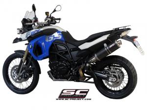 SC-Project uitlaat R60 voor BMW F 650 GS 2008-2012
