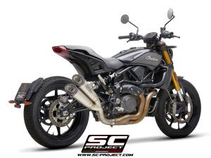 SC-Project Linkpijp zonder kat voor INDIAN MOTORCYCLE FTR 1200