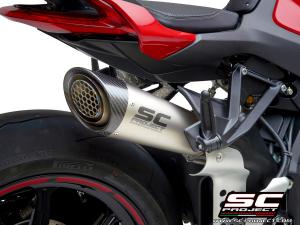SC-Project uitlaat S1 voor MV AGUSTA BRUTALE 1000 RR – Serie Oro 2019-2021