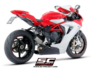 SC-Project uitlaat CR-T voor MV AGUSTA F3 675 2017-2021-F3 800 2017-2021-EAS ABS-RC