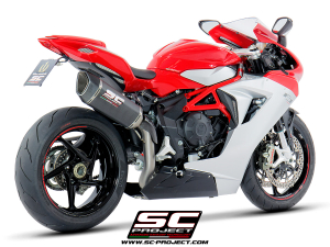SC-Project uitlaat SC1-R voor MV AGUSTA F3 675 2017-2021-F3 800 2017-2021-EAS ABS-RC