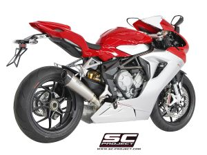 SC-Project uitlaat Conico voor MV AGUSTA F3 675 2011-2016 en F3 800 2013-2016-EAS ABS-RC