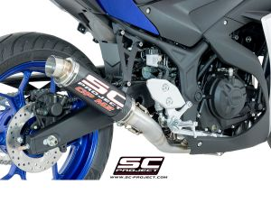 SC-Project Volledig systeem GP-M2 voor YAMAHA YZF R3 2015-2017