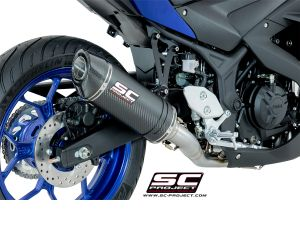 SC-Project Volledig systeem Oval voor YAMAHA YZF R3 2015-2017