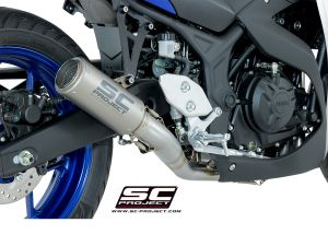 SC-Project Volledig systeem CR-T voor YAMAHA YZF R3 2015-2017