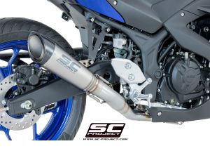 SC-Project Volledig systeem S1 voor YAMAHA YZF R3 2015-2017