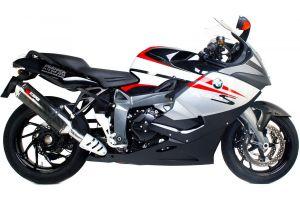 Scorpion Slip-On uitlaat Factory Oval Carbon voor BMW K1300 R / K1300 S