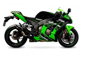 Scorpion Slip-On uitlaat RP1-GP Carbon voor Kawasaki Ninja ZX-10R / ZX-10RR / ZX-10R SE
