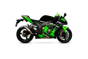 Scorpion Slip-On uitlaat RP1-GP Titanium voor Kawasaki Ninja ZX-10R / ZX-10RR / ZX-10R SE