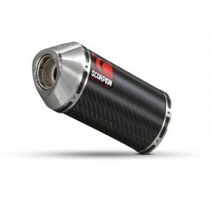 Scorpion Slip-On uitlaat Carbine Carbon voor Suzuki GSF600 Bandit / GSF650 Bandit / GSF1200 Bandit