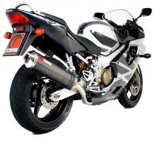Scorpion Slip-On uitlaat Factory Oval Carbon voor Honda CBR600 Fi F4i