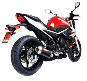 Scorpion Slip-On uitlaat Factory Oval Carbon voor Yamaha XJ6