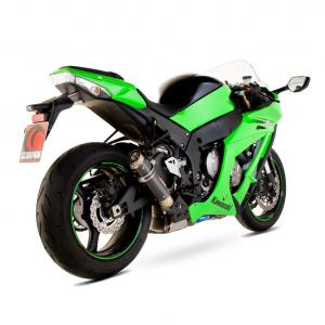 Scorpion Slip-On uitlaat RP1-GP Carbon voor Kawasaki Ninja ZX-10R