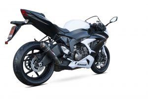 Scorpion Slip-On uitlaat RP1-GP Carbon voor Kawasaki Ninja ZX-6R / Ninja ZX-636