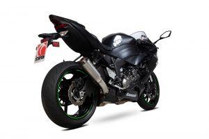 Scorpion Slip-On uitlaat Red Power Titanium voor Kawasaki Ninja ZX-6R / Ninja ZX-636