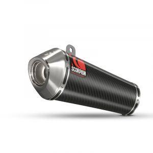 Scorpion Slip-On uitlaat Power Cone Carbon voor Honda CB600 Hornet