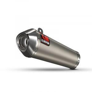 Scorpion Slip-On uitlaat Power Cone Titanium voor Honda CB600 Hornet