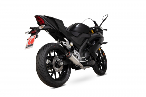 Scorpion Volledig systeem Red Power RVS voor Yamaha YZF-R125
