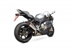 Scorpion Slip-On uitlaat Serket Taper Titanium voor BMW S1000 RR