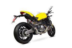 Scorpion Slip-On uitlaat Serket Taper Carbon voor Ducati Monster 821