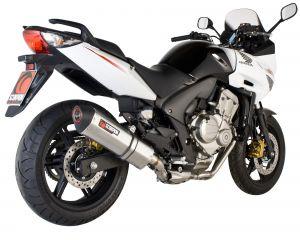 Scorpion Slip-On uitlaat Serket Parallel RVS voor Honda CBF600