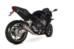 Scorpion Volledig systeem Serket Taper RVS voor Honda CBR650 F/ CB650 F