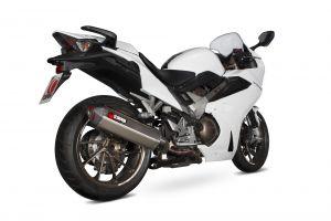 Scorpion Slip-On uitlaat Serket Parallel RVS voor Honda VFR800 F